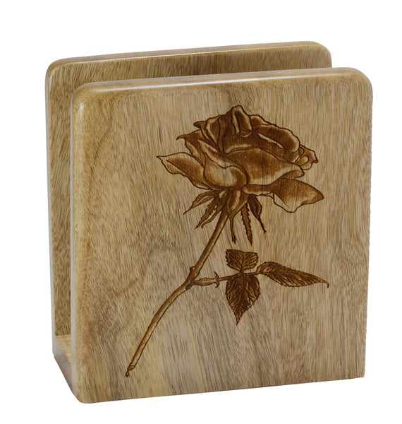 Rose Square Napkin Holder