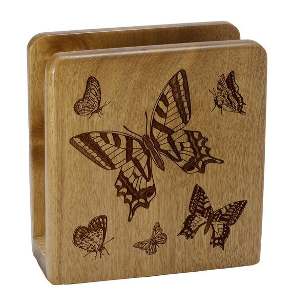 Butterfly Square Napkin Holder