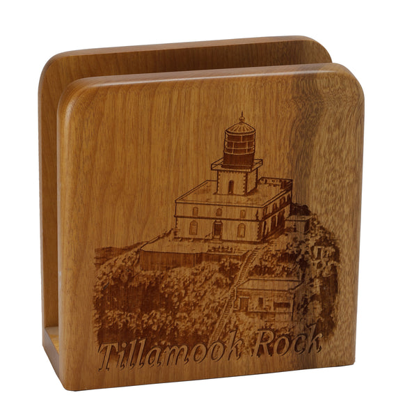 Tillamook Rock Square Napkin Holder