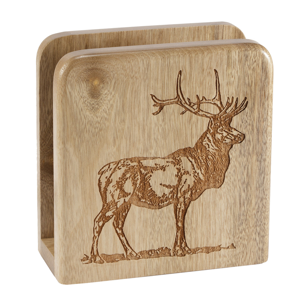 Elk Napkin Holder