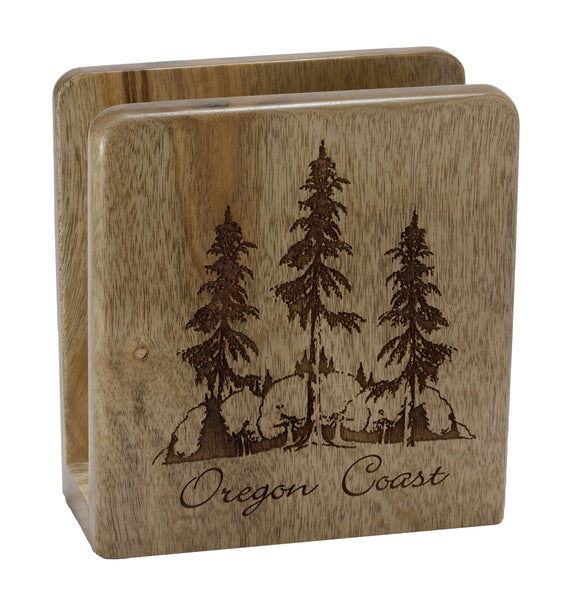Oregon Forest Napkin Holder