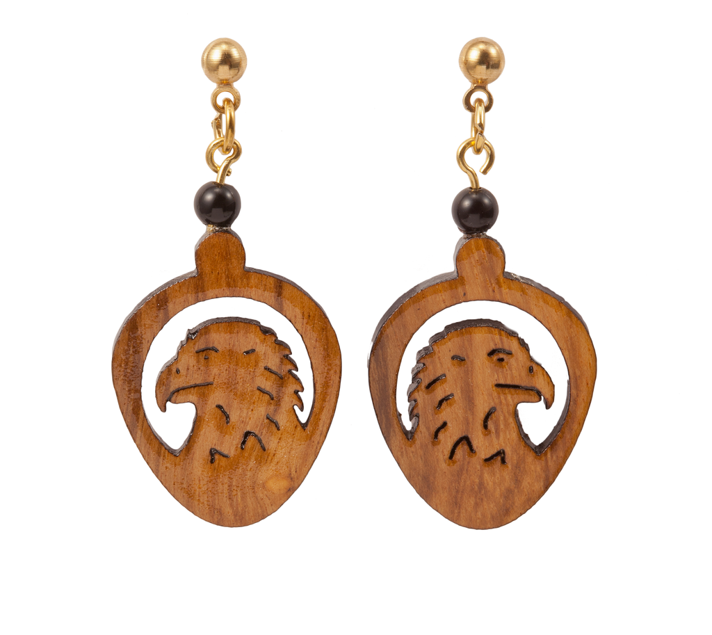 Laser Cut Eagle Earring