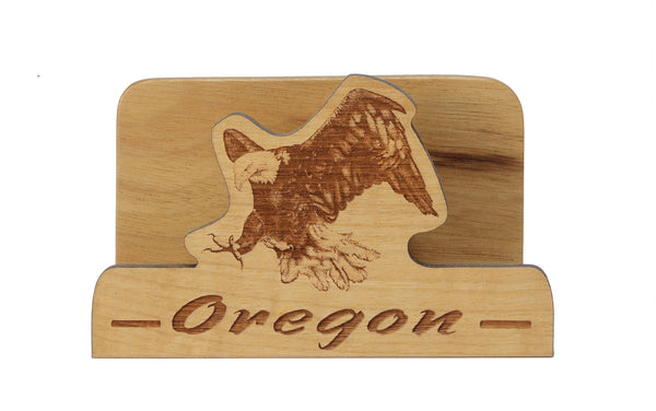Eagle Laser Cut Business Card Holder