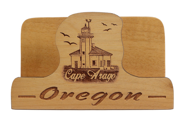 Cape Arago Laser Cut Business Card Holder