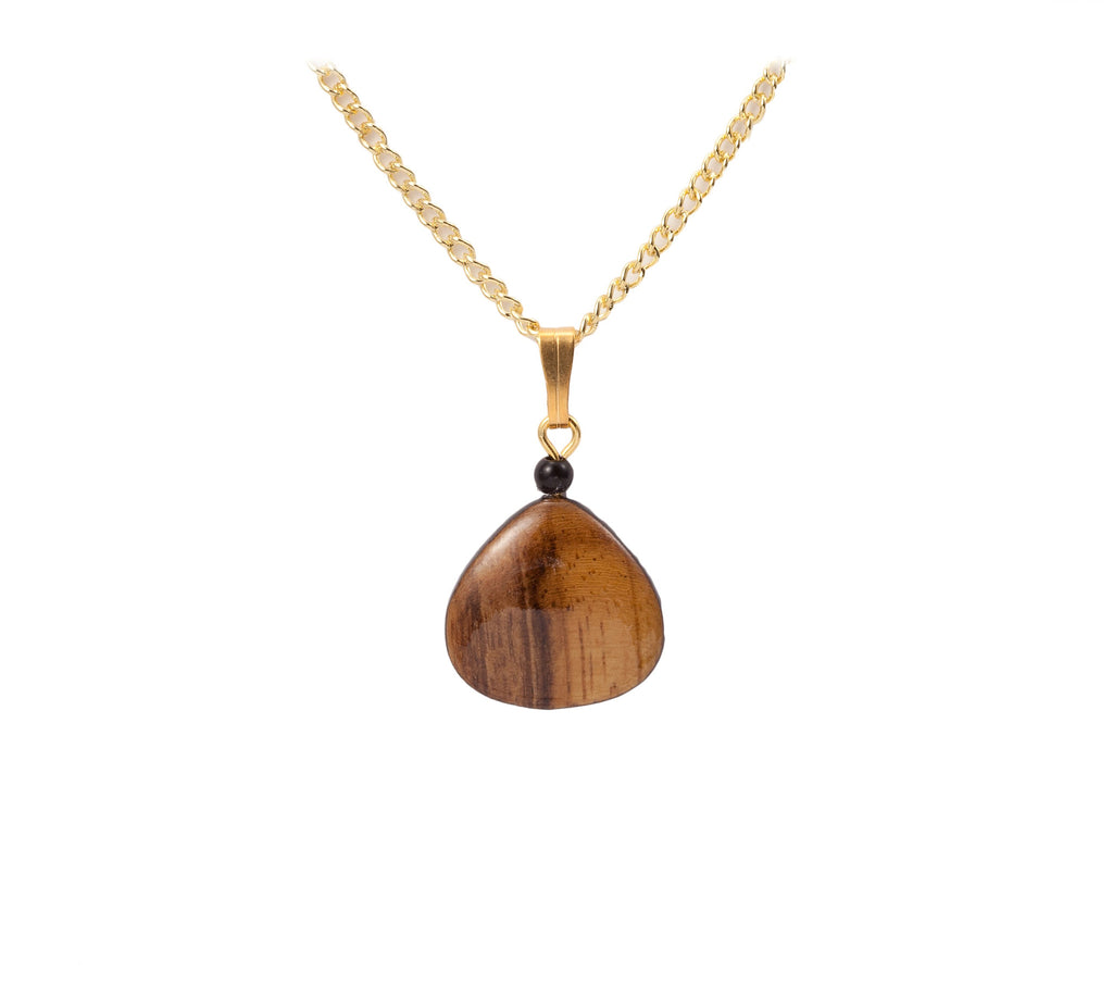 Smoothed Wood Necklace