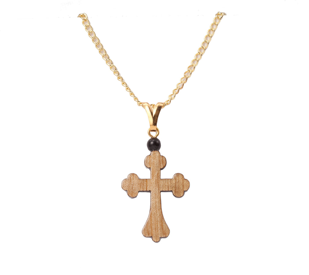 catholic gold gifts kt filled celtic cross chain with necklace sku