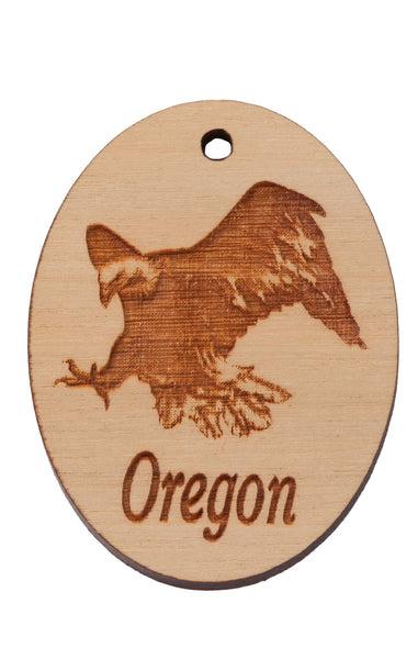 Bald Eagle Keychain or Magnet