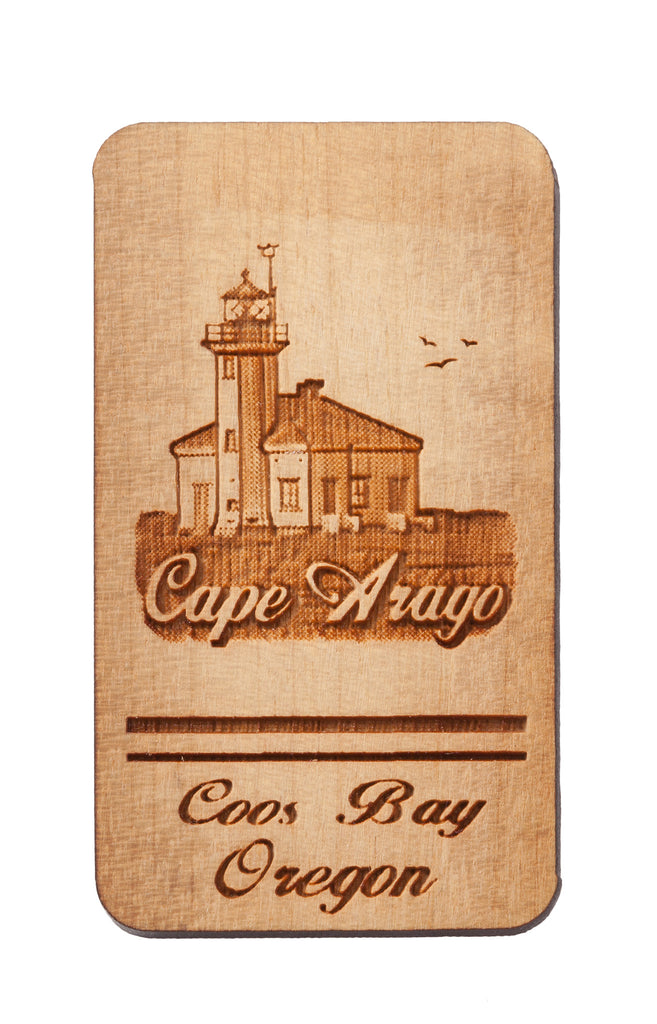 Cape Arago, Coos Bay Rectangular Keychain or Magnet