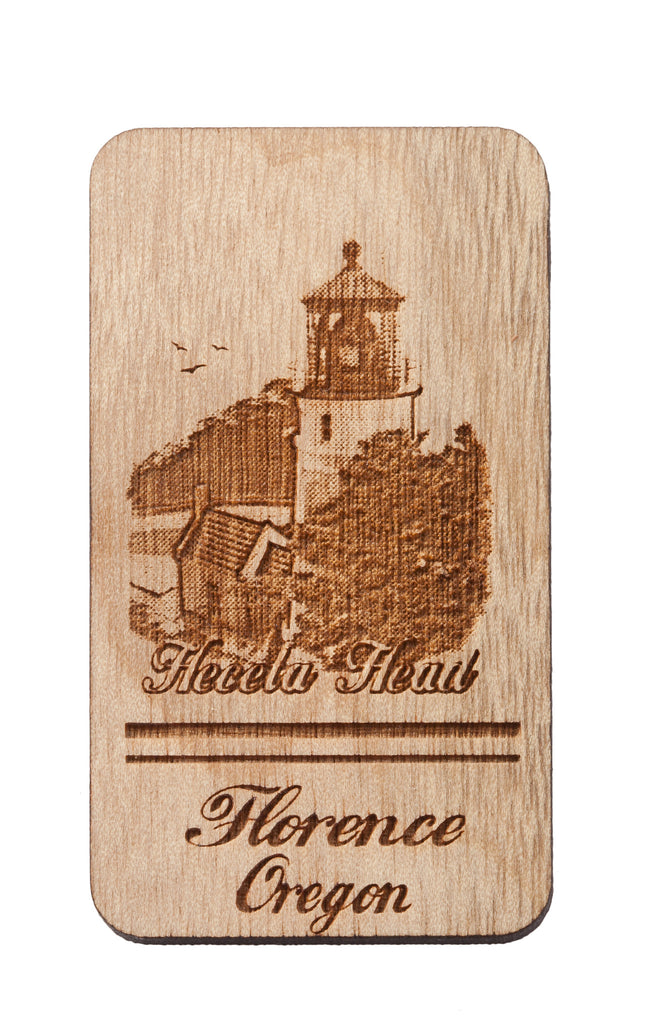 Haceta Head Florence Oregon Keychain or Magnet