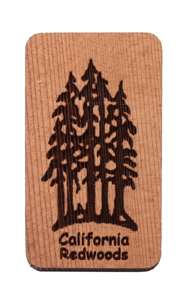 California Redwoods Keychain or Magnet