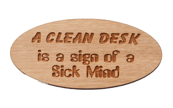 Clean Desk Magnet