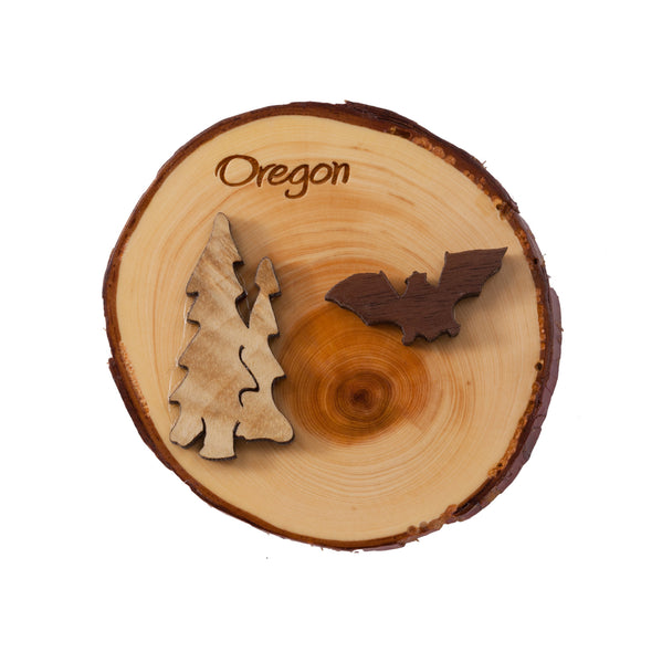 Oregon Juniper Magnet
