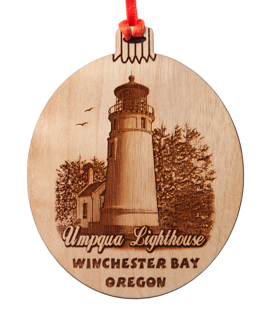 Umqua Lighthouse Winchester Bay Ornament