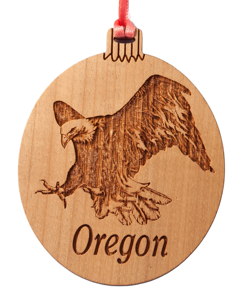 Oregon Bald Eagle Ornament