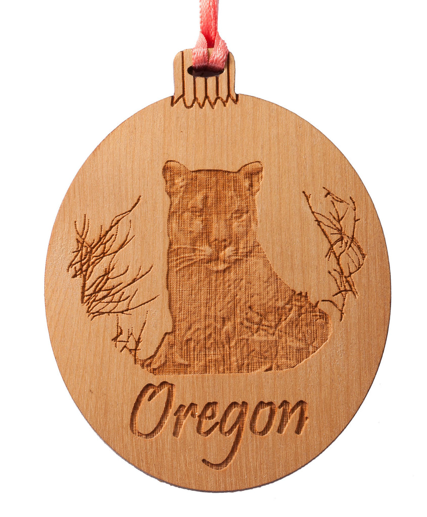 Oregon Cougar Ornament