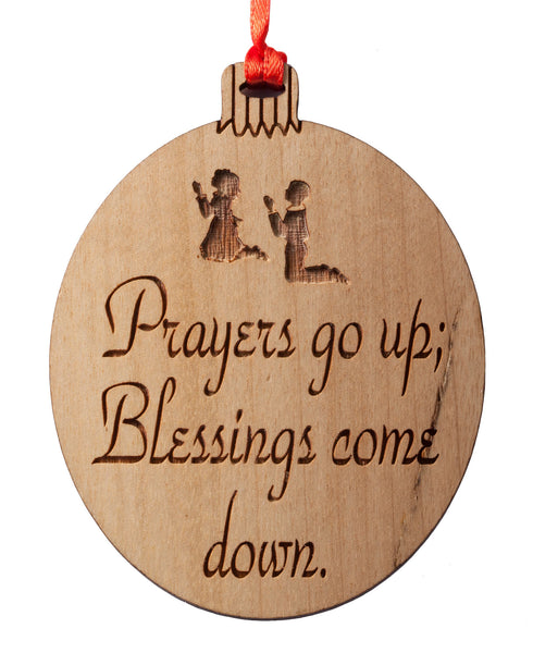 Blessings & Prayers Ornament