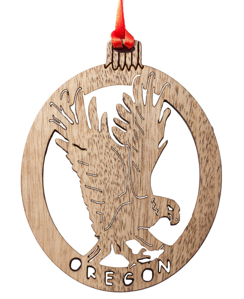 Bald Eagle Laser Cut Ornament