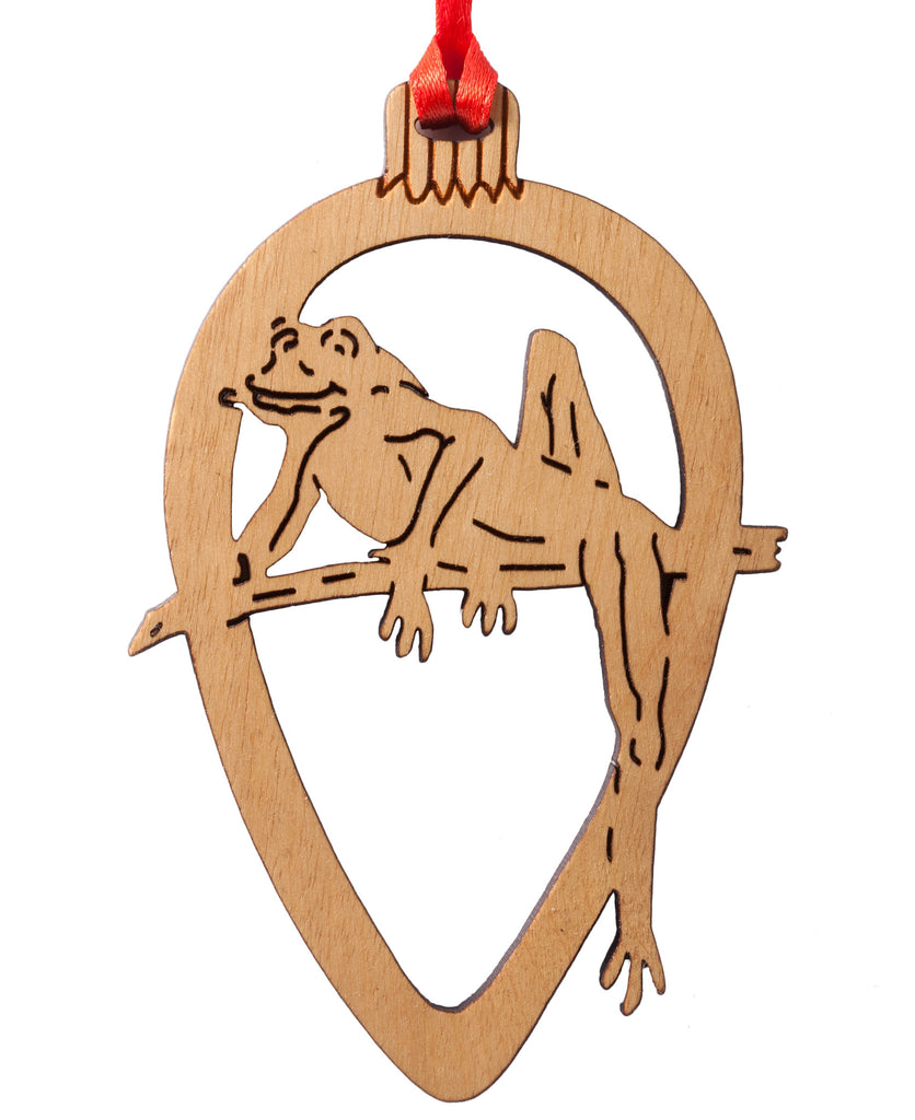 Tree Frog Laser Cut Ornament