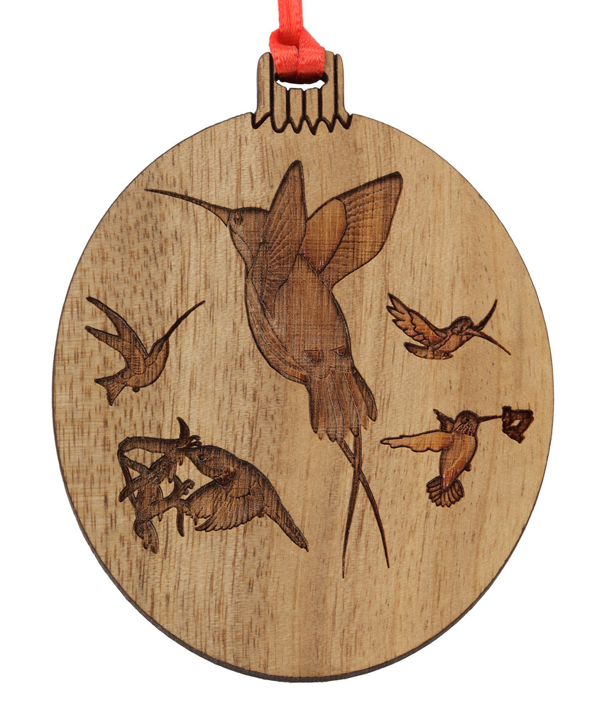 Hummingbirds Ornament