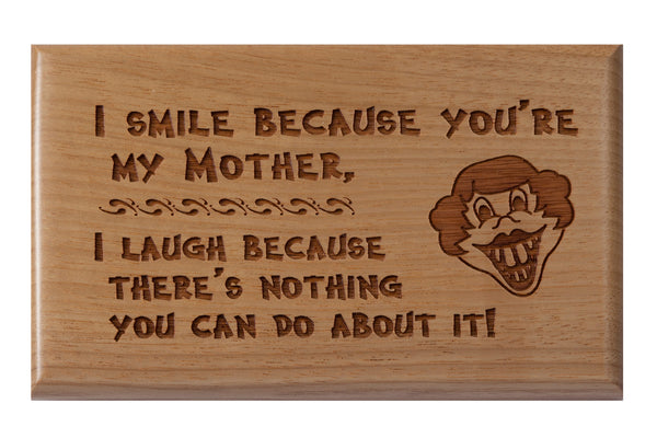 Mother Desk or Wall Plaque 3 x 5""