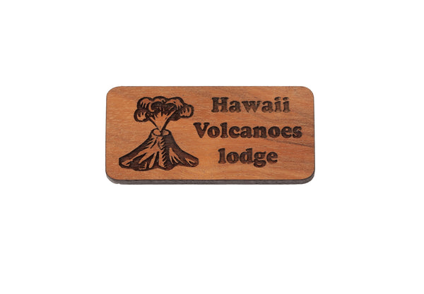 Hawaii Volcanoes Lodge Magnet