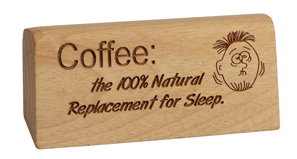 No. 1 Sleep Replacement Break Desk Plaque