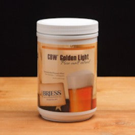 Briess CBW® Golden Light Pure Liquid Malt Extract, 3.3 Pound Container - Barley & Vine