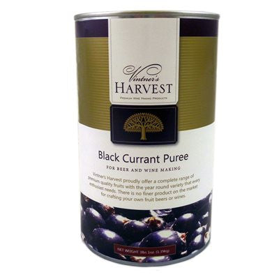 Black Currant Puree (49 Ounces) - Vintner's Harvest - Barley & Vine