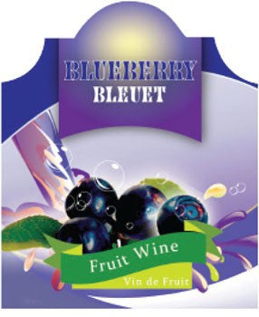 Blueberry Labels, 30 pack - Barley & Vine