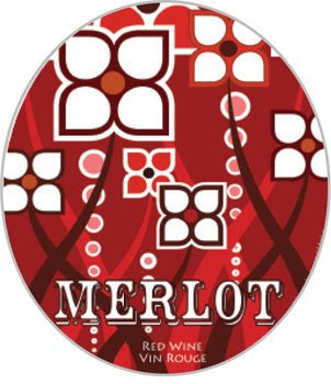 Merlot Labels, 30 pack - Barley & Vine