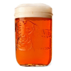 Lagunitas Mason Jar Glasses 20 oz, set of 4 - Barley & Vine