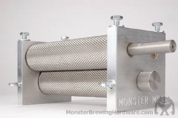 Monster Brewing Hardware 3-Roller Mill - Barley & Vine
