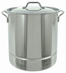 Bayou Classic® Brew Kettle w/Tri-Ply Bottom Stock Pot and Lid - Barley & Vine