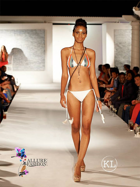 Isy B. Shows Goddess Style at Allure Fashion Weekend Cayman