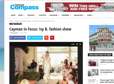 Cayman Compass - Cayman in Focus: Isy B. Fashion Show