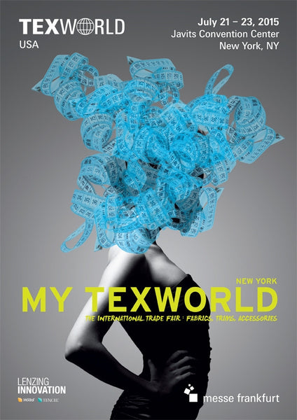 Fabric Heaven - Isy B. Cayman at Texworld USA in NYC July 2015