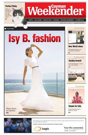 Isy B. shoots campaign in Cayman By Jenny Palmer