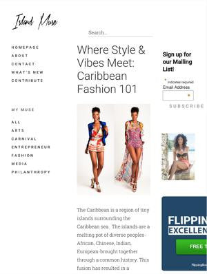 Where Style & Vibes Meet: Caribbean Fashion 101 by Michelle Ford