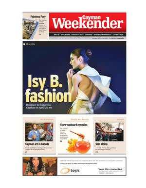 Isy B. at Cayman Islands Fashion Week By Jenny Palmer