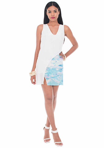 Cayman Water Classic Shift Dress by Isy B. Design, Cayman Islands Designer