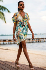 It's a Wrap Kaftan Dress