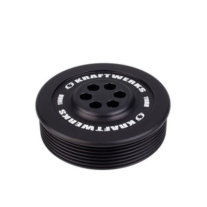 KraftWerks Supercharger Pulley - 110mm 7 Rib