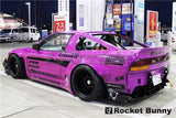GReddy 89-93 Nissan 240SX Full Rocket Bunny 180/240SX Wide Body Aero Kit w/ Wing