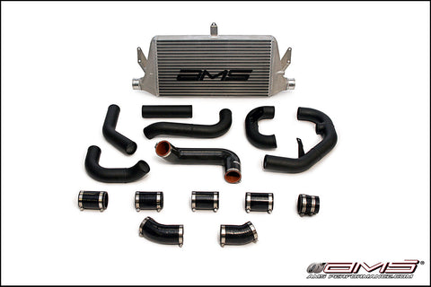 "AMS 06-07 Subaru Front Mount intercooler Kit with 2.5"" piping WITH LOGO"