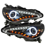 Spyder Scion FRS 12-14 Projector Headlights DRL LED Chrome