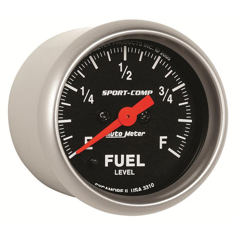 AUTOMETER  Sport-Comp Series; Fuel Level Gauge