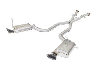 aFe MACHForce XP Cat-Back Exhaust Stainless No Tips 12-15 Jeep Grand Cherokee SRT/SRT-8 V8 Hemi 6.4L