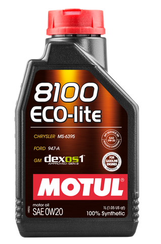 MOTUL (PN# 106376) 8100 X-CLEAN + 5W30 - 1L - SYNTHETIC ENGINE OIL