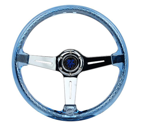 MATSURI ACRYLIC STEERING WHEEL CHROME