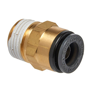 Straight Male Connector 3/8""